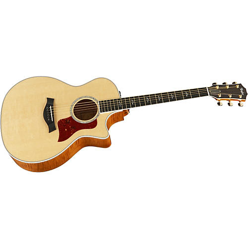 Taylor 614-CE Grand Auditorium Cutaway Acoustic-Electric Guitar (2011 Model) Natural