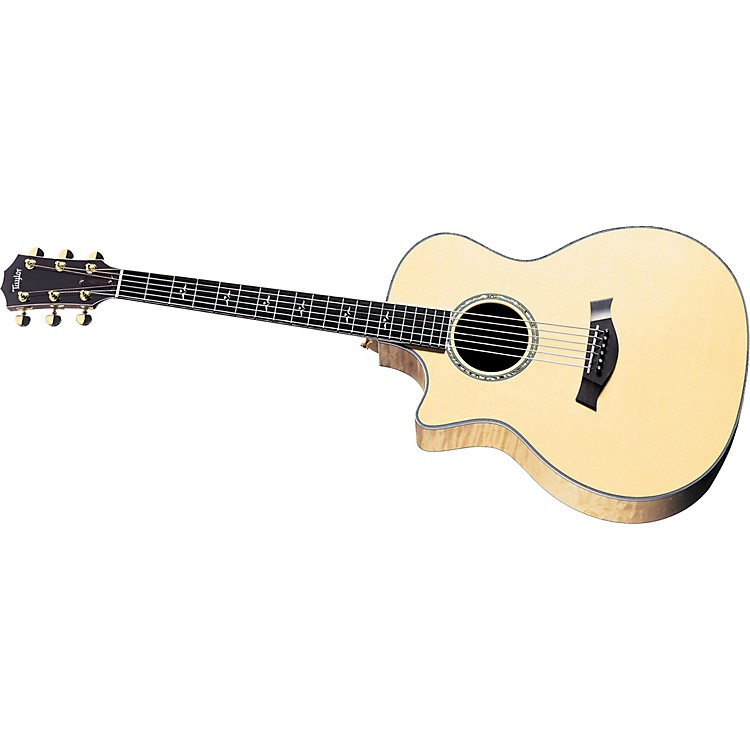 Taylor 614CE Left-Handed Grand Auditorium Acoustic-Electric Guitar (2010 Model)