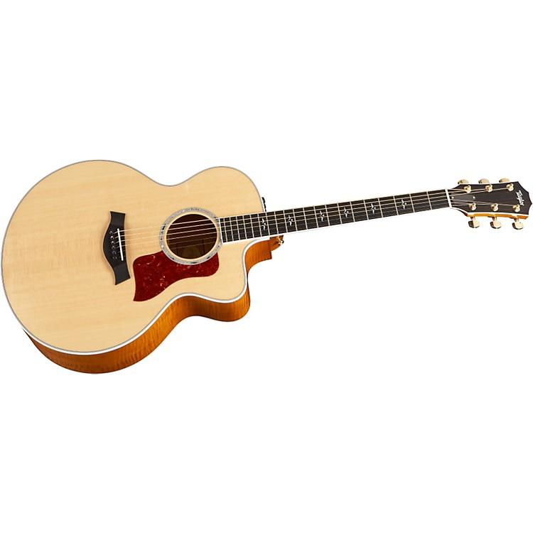 Taylor615-CE Jumbo Cutaway Acoustic-Electric Guitar (2010 Model)