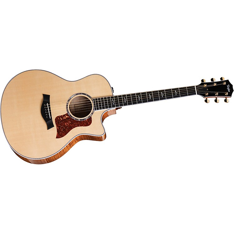 Taylor616ce-L Maple/Spruce Grand Symphony Left-Handed Acoustic-Electric Guitar