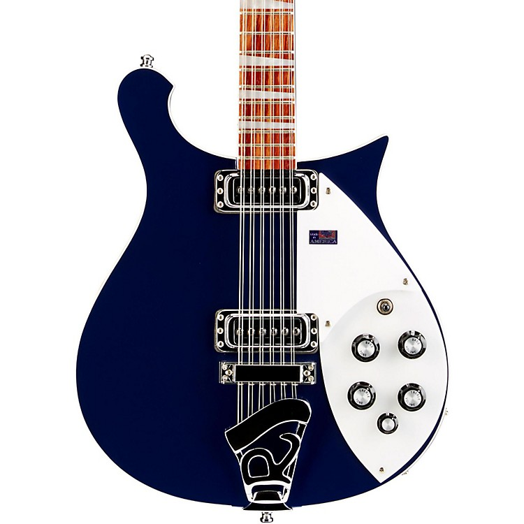 Rickenbacker 620/12 12-String Guitar Midnight Blue