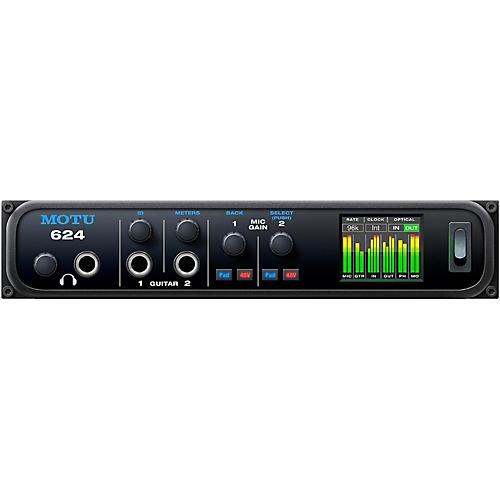 MOTU 624 Thunderbolt / USB3 / AVB Ethernet audio interface with DSP and mixing-thumbnail