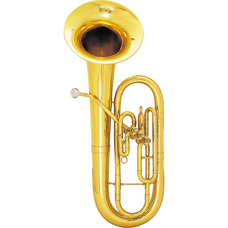 King625 / 627 Diplomat Series Bb Baritone Horn625SP Silver Bell Front