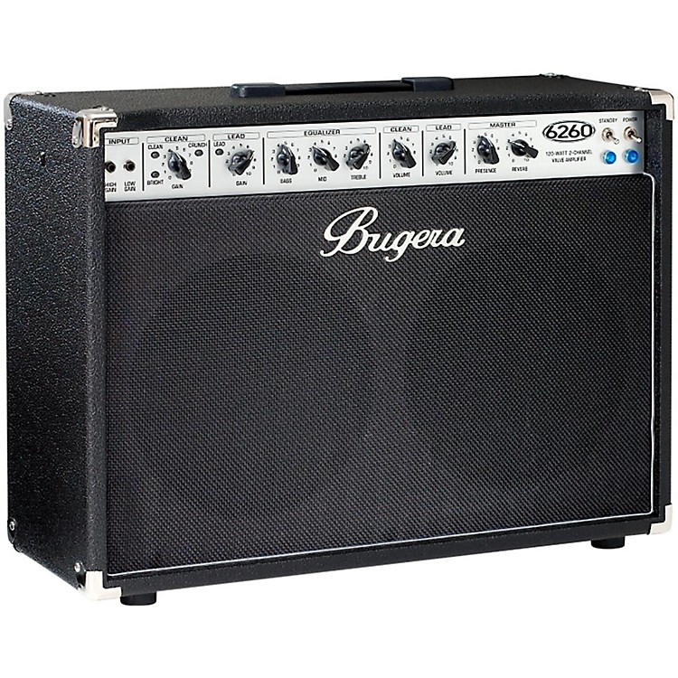 bugera 6260 120w 2x12 2 channel tube guitar combo amp with reverb musician 39 s friend. Black Bedroom Furniture Sets. Home Design Ideas