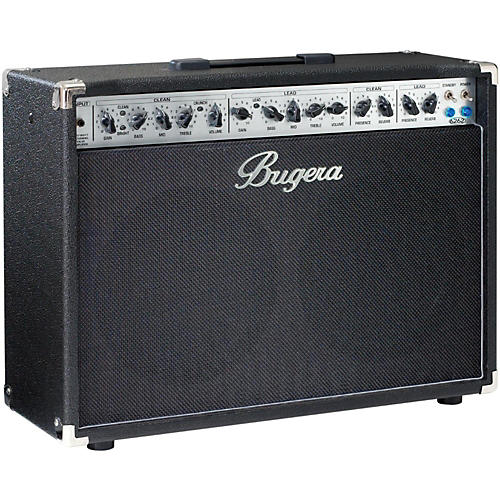 bugera 6262 212 120w 2x12 tube guitar combo amp musician 39 s friend. Black Bedroom Furniture Sets. Home Design Ideas
