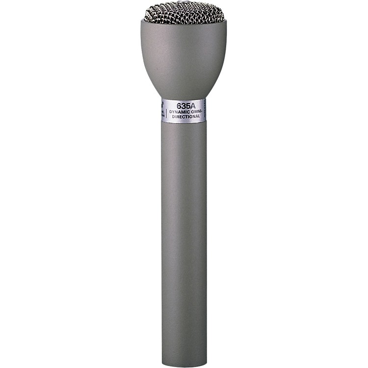 Electro-Voice 635A Handheld Live Interview Microphone Black