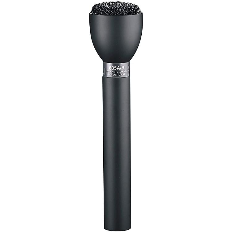 Electro-Voice635A Handheld Live Interview MicrophoneBlack