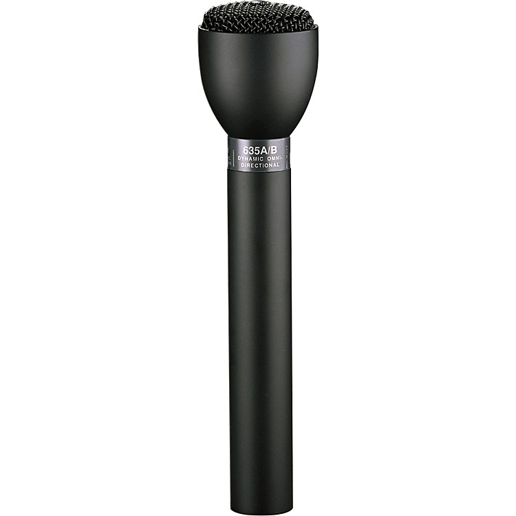 Electro-Voice 635N/D-B Handheld Interview Microphone Black