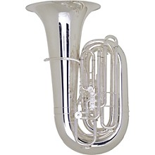 Meinl Weston 6450/2 Baer Handmade Series 5-Valve 6/4 CC Tuba Silver