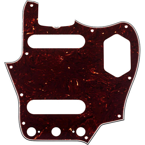 Fender 65 Jaguar Pickguard, 4-Ply, Brown Shell-thumbnail