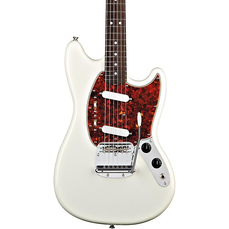 Fender '65 Mustang Reissue Electric Guitar Olympic White