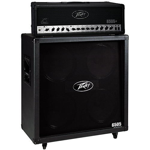 Peavey 6505+ 120W Guitar Head with 6505 4x12 300W Cabinet Straight