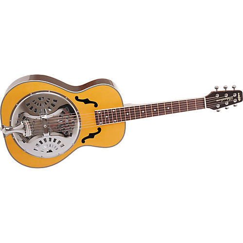 Wechter Guitars 6530-FAE Scheerhorn Square Neck Resonator Guitar with Schertler Basik Pickup