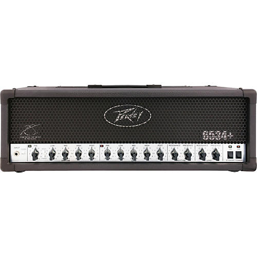 Peavey 6534 Plus 120W Tube Guitar Amp Head Black