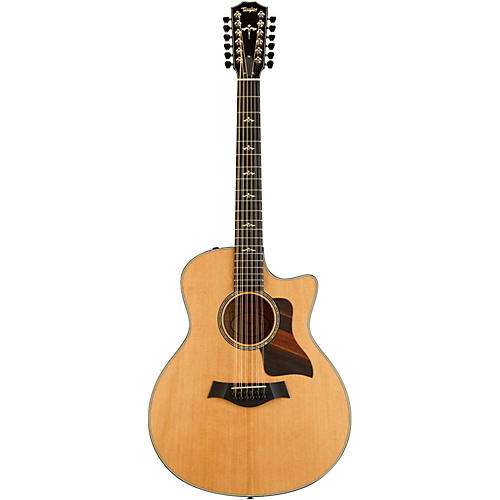 Taylor 656ce First Edition Cutaway Grand Symphony 12 String Acoustic-Electric Guitar-thumbnail