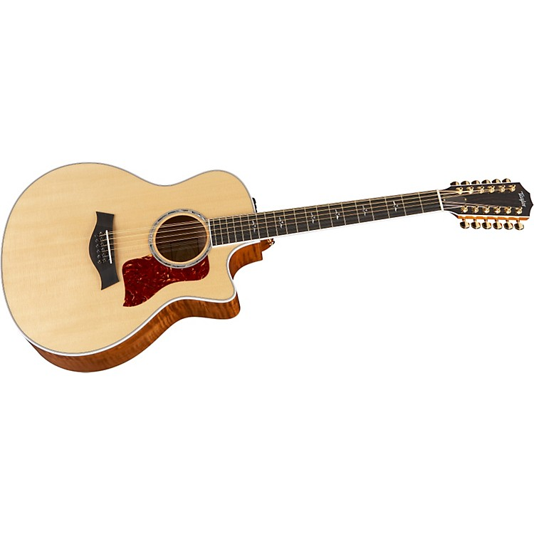 Taylor 656ce-L Maple/Spruce Grand Symphony 12-String Left-Handed Acoustic-Electric Guitar