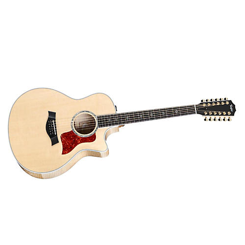 Taylor 656ce Maple/Spruce Grand Symphony 12-String Acoustic-Electric Guitar-thumbnail