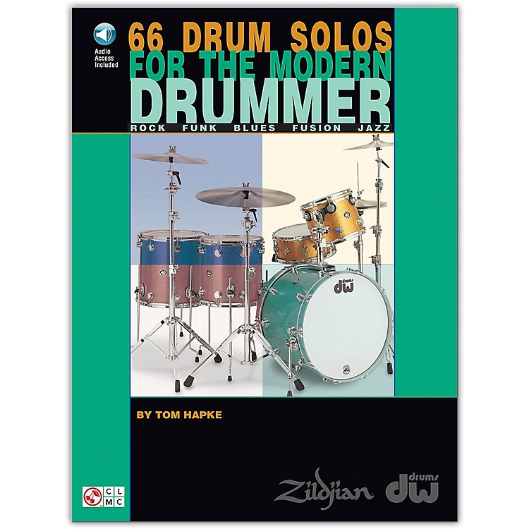 Hal Leonard 66 Drum Solos for the Modern Drummer Book/CD