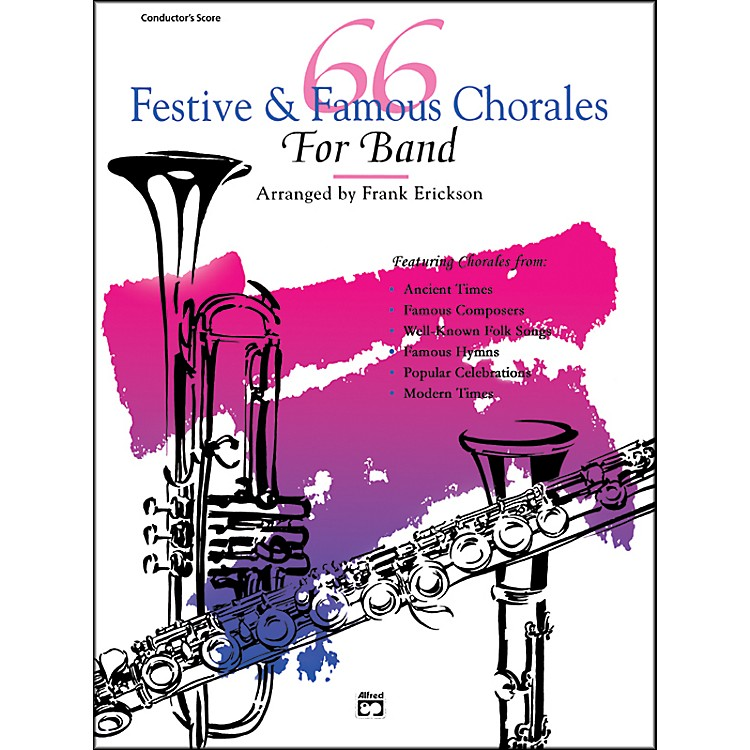 Alfred66 Festive and Famous Chorales for Band Orchestra Bells
