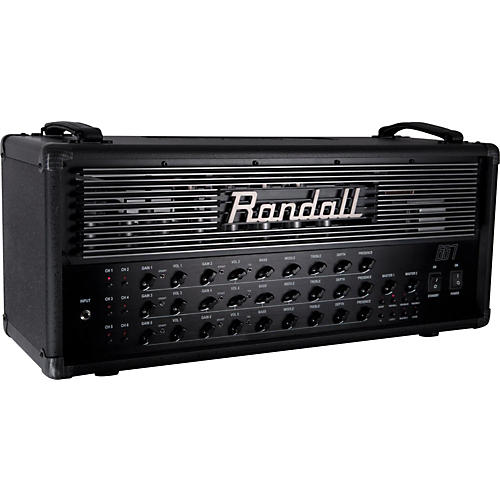 Guitar Amp Head To Audio Interface : randall 667 120w guitar tube amp head black musician 39 s friend ~ Hamham.info Haus und Dekorationen
