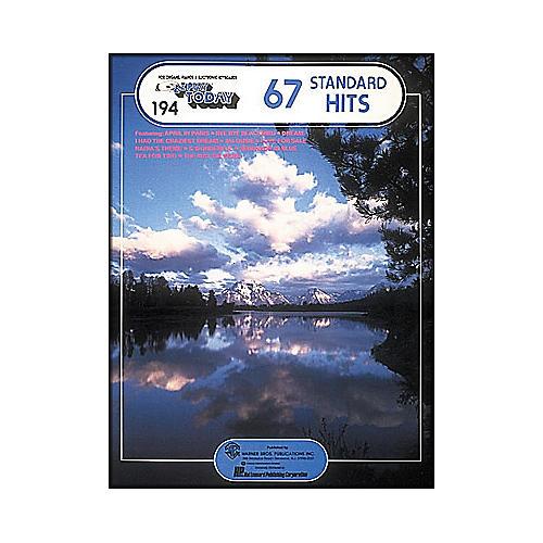 Hal Leonard 67 Standard Hits E-Z Play 194