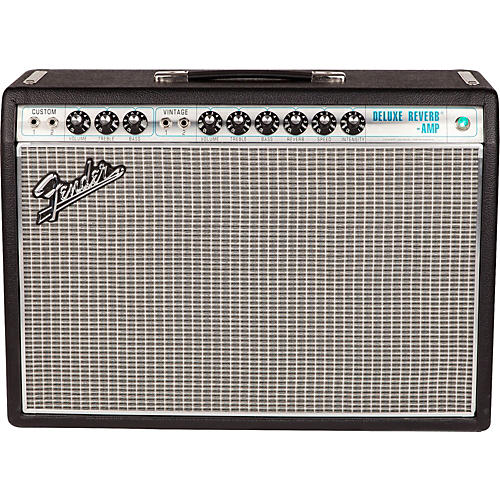 fender 39 68 custom deluxe reverb 22w 1x12 tube guitar combo amp with celestion g12v 70 speaker. Black Bedroom Furniture Sets. Home Design Ideas