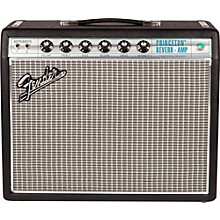 Fender '68 Custom Princeton Reverb 12W 1x10 Tube Guitar Combo Amp with Celestion Ten 30 Speaker Black