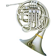 Hans Hoyer 6801NSA-L Nickel Silver Heritage Double Horn String Linkage, Fixed Bell Fixed Bell