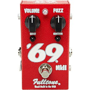 fulltone 39 69 mkii fuzz guitar effects pedal musician 39 s friend. Black Bedroom Furniture Sets. Home Design Ideas