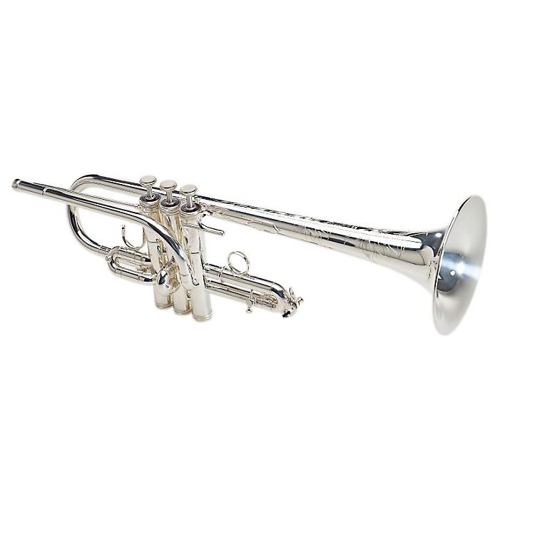 S.E. SHIRES6MS8-D Custom Series Eb/D Trumpet6MS8-D-SP Silver