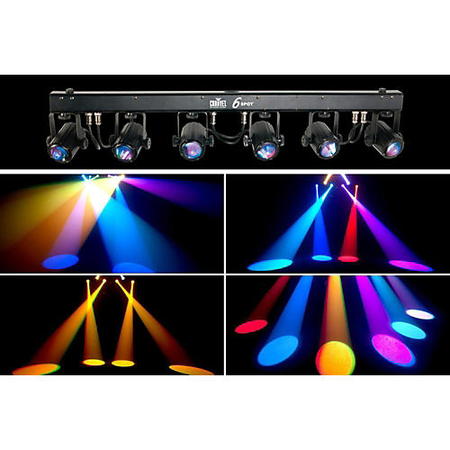 CHAUVET DJ 6SPOT LED Spot Lighting System-thumbnail