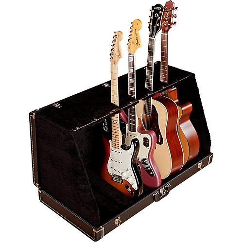 Fender 7 Guitar Case Stand Black