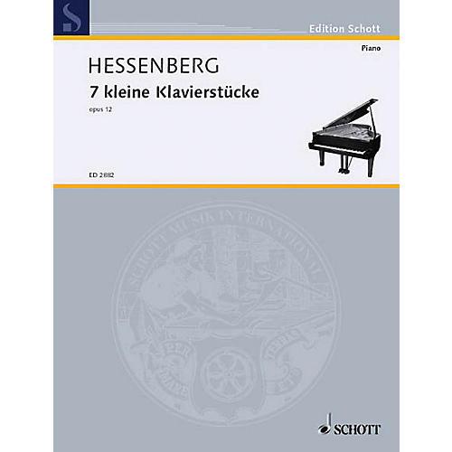 Schott 7 Little Piano Pieces Schott Series