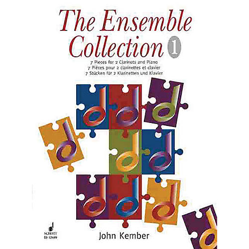 Schott 7 Pieces (The Ensemble Collection) Schott Series Composed by John Kember-thumbnail