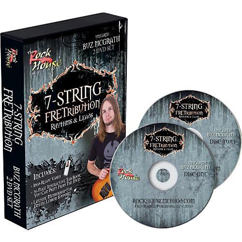 Rock House 7-String Fretribution Rhythyms & Leads 2 DVD Set