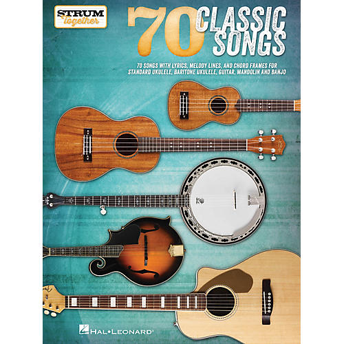 Hal Leonard 70 Classic Songs - Strum Together Strum Together Series Softcover-thumbnail