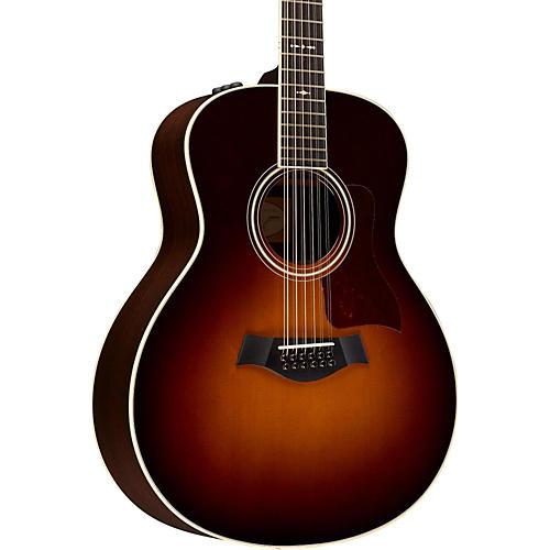 Taylor 700 Series 2014 756e Grand Symphony 12-String Acoustic-Electric Guitar Vintage Sunburst