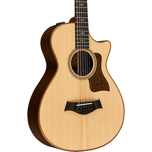 Taylor 700 Series Limited Edition 752ce 12-Fret 12-String Grand Concert Acoustic-Electric Guitar-thumbnail