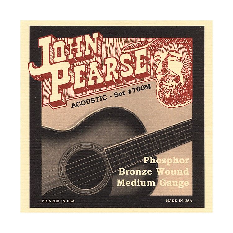 John Pearse 700M Bronze Acoustic Guitar Strings