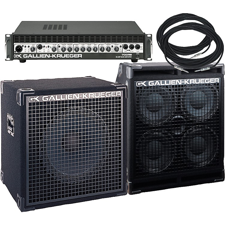 Gallien-Krueger 700RB Biamp Stack Package