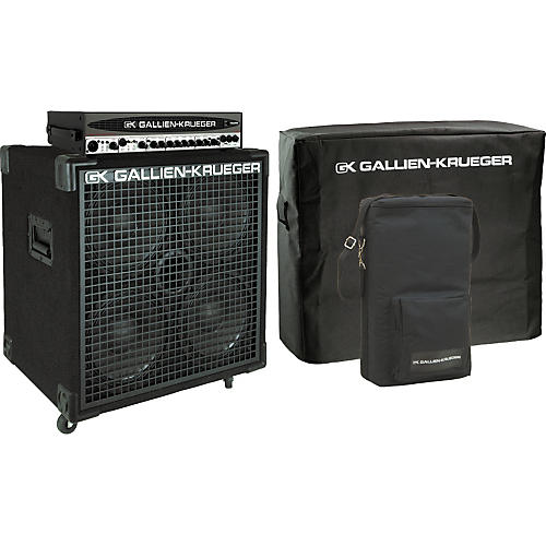 gallien krueger 700rb ii head 410sbx cabinet pack with covers musician 39 s friend. Black Bedroom Furniture Sets. Home Design Ideas