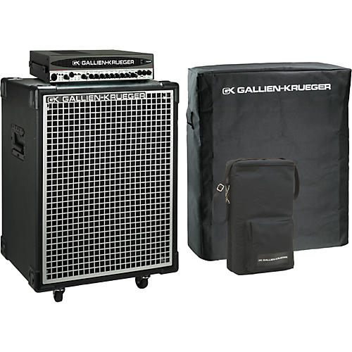 Gallien-Krueger 700RB-II Head/Neo 212 Cabinet Pack with Covers-thumbnail