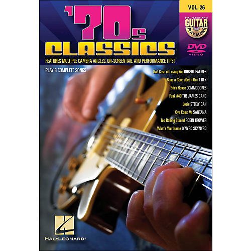 Hal Leonard 70s Classics - Guitar Play-Along DVD Volume 26