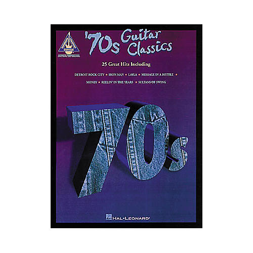 Hal Leonard 70s Classics Guitar Tab Songbook