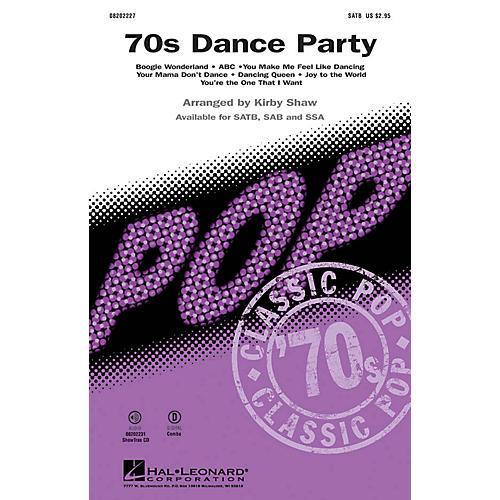 Hal Leonard '70s Dance Party (Medley) SAB Arranged by Kirby Shaw