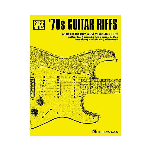Hal Leonard '70s Guitar Riffs Book