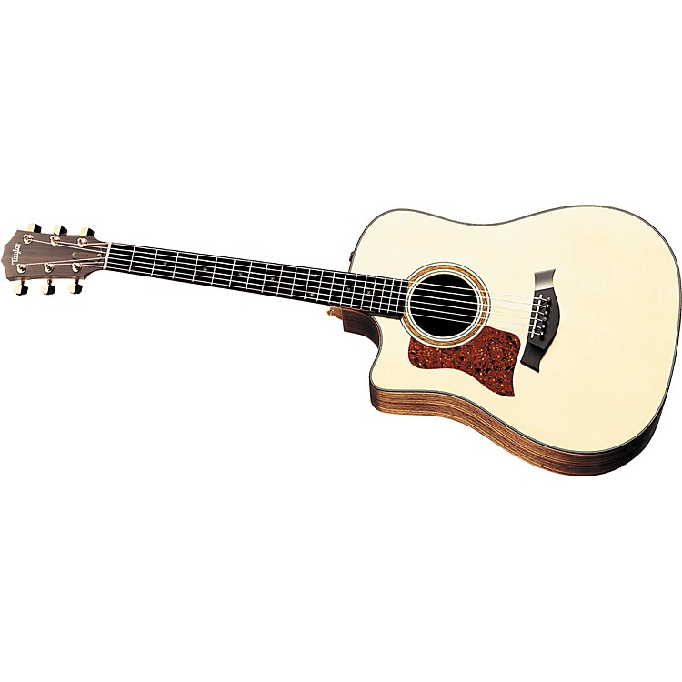 Taylor 710-CE Left-Handed Dreadnought Cutaway Acoustic-Electric Guitar (2010 Model)