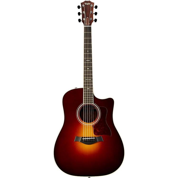 Taylor710ce Rosewood/Spruce Dreadnought Acoustic-Electric GuitarSunburst