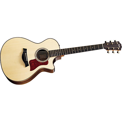 Taylor 712ce Grand Concert Cutaway Acoustic-Electric Guitar (2011 Model)-thumbnail