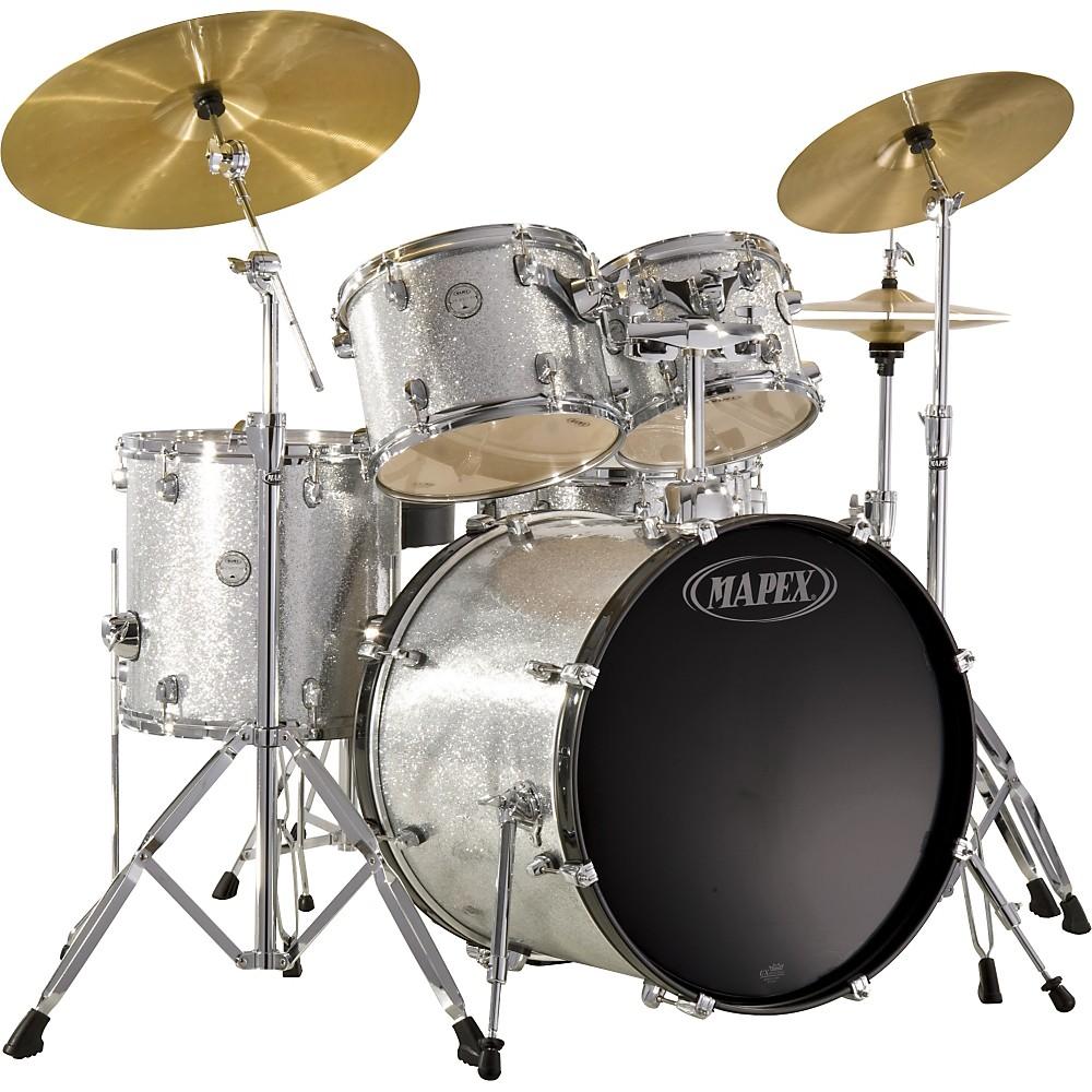 Mapex Horizon Hx 5piece Drum Set W Free 8x7 Tom Crystal